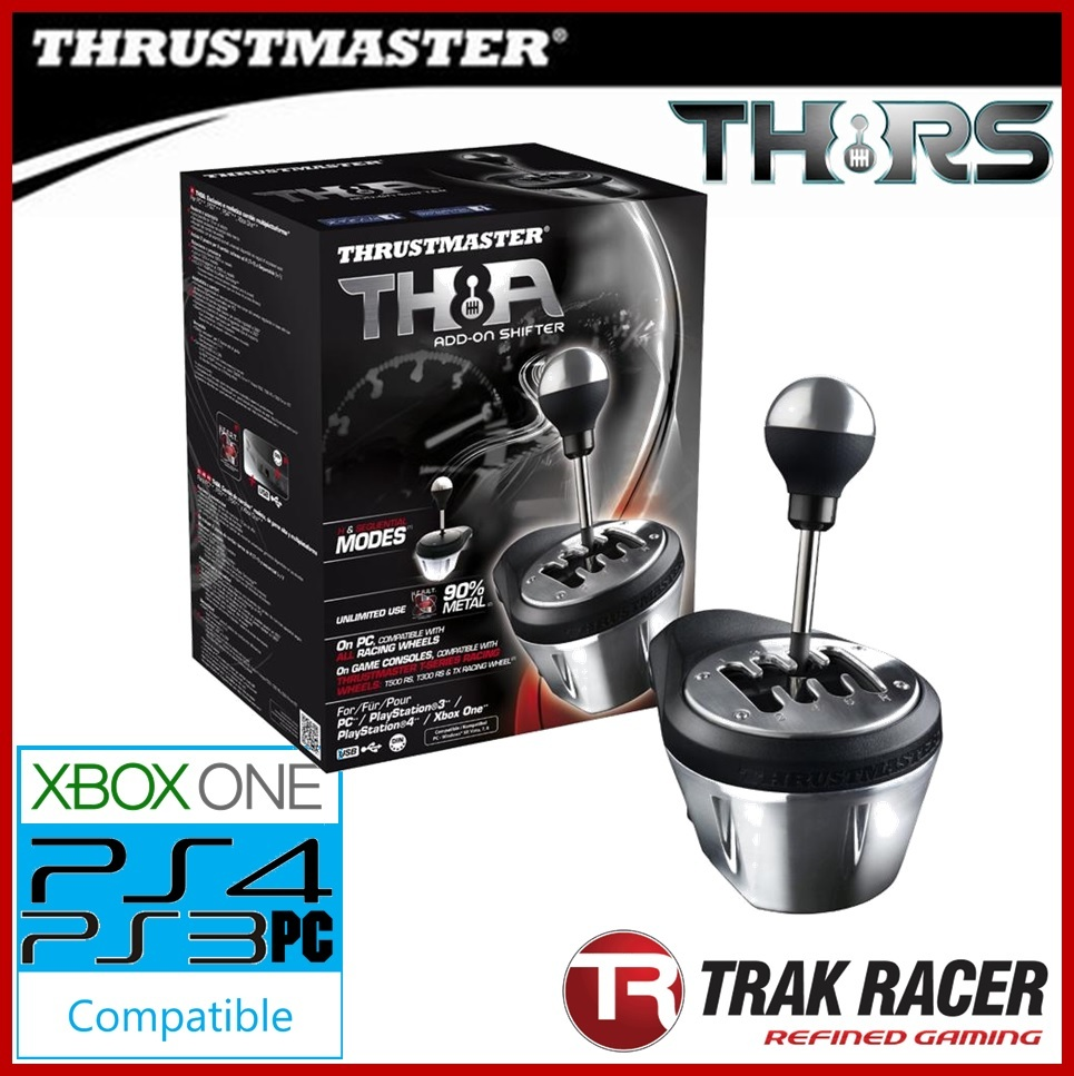thrustmaster th8a driving shifter gear box add on for ps3. Black Bedroom Furniture Sets. Home Design Ideas