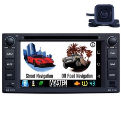 For Toyota Land Cruiser Hilux Estima GPS Bluetooth Car Player Navigation Radio Stereo DVD Inc Cam