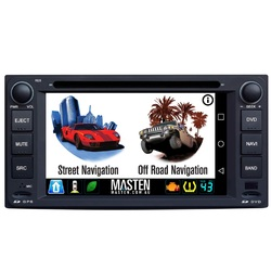For Toyota Hilux Prado Corolla GPS Bluetooth Car Player Navigation Stereo DVD Radio
