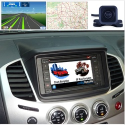 Android For Mitsubishi Triton ML MN Challenger PB 06-14 GPS Bluetooth Car Player Navigation Radio Stereo DVD Inc CAM