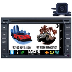 For Nissan Universal 96-15 GPS Bluetooth Car Player Navigation Radio Stereo DVD Inc Cam