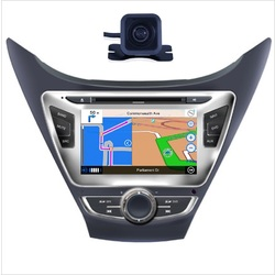 For Hyundai MD 2010 - 12 GPS Bluetooth Car Player Navigation Radio Stereo DVD Inc Camera