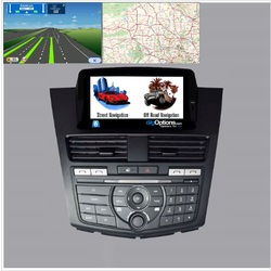 For Mazda BT-50 2012+ GPS Bluetooth Car Player Navigation Radio Stereo DVD Map