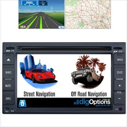 Platinum Universal Double DIN 2DIN GPS Bluetooth Car Player Navigation Radio Stereo DVD
