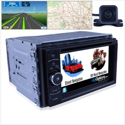 Platinum Universal Double DIN 2DIN GPS Bluetooth Car Player Navigation Radio Stereo DVD Inc CAM