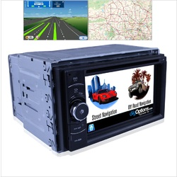Demo stock Platinum  Demo Universal Double DIN 2DIN GPS Bluetooth Car Player Navigation Radio Stereo DVD