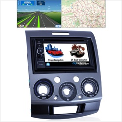 Platinum For Mazda BT-50 For Ford Ranger 06-11 GPS Bluetooth Car Player Navigation Radio Stereo DVD Inc FAS