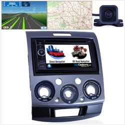 Platinum For Mazda BT-50 and For Ford Ranger 06-11 GPS Bluetooth GPS Car Player Navigation Radio Stereo DVD Inc CAM & FAS