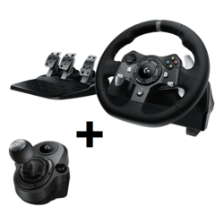 Logitech G920 Driving Force Racing Wheel Pedals & Shifter for XBOX ONE PC