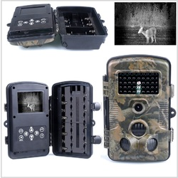 Masten Camo Trail Camera Battery Security Hunting 12MP Outdoor Spy Surveillance