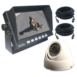 "7"" HD Monitor & CMOS 420TVL Camera Kit with Night Vision 7.5m Cable 15m  Kit"