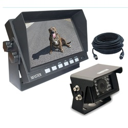 "7"" HD Monitor & Ute/Canopy CMOS 420TVL Camera Kit Night Vision  7.5m Cable"