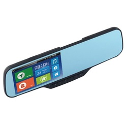 3G Android GPS Navigation Rearview Mirror DVR Mirror Replacement Night Vision Sensor