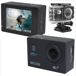 Ultra HD 4K 1080p WIFI Waterproof Sports Action Video Camera Fit Mount Masten