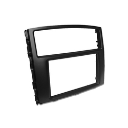 For Mitsubishi Pajero Double-Din Radio Fascia Facia Stereo Surround  Trim Panel