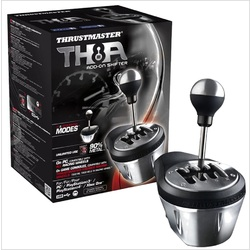 Thrustmaster TH8A Shifter Realistic Gear box Add-on for PC, PS3, PS4 & Xbox One