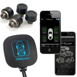 Masten Bluetooth iTPMS  Tyre Tire Pressure Monitor System Car Motorcycle   for Android iOS iPhone TPMS