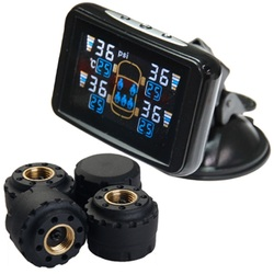 TPMS Tyre Pressure Monitoring System External Sensor LCD 4WD Wireless PSI 4x4