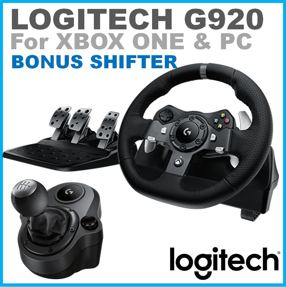 65bdeb3a2e9 galllery. galllery. galllery. galllery. Description. Logitech G920 Driving  Force Racing Wheel Pedals & Shifter ...