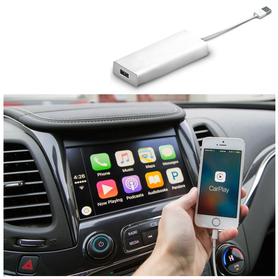 Display Device USB Dongle Cable For Apple IOS iPhone Carplay