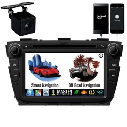 GPS For Kia Sorento 2013-2014 XM Bluetooth Car Player Navigation Radio Stereo DVD Inc CAM
