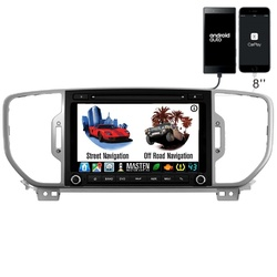 Quad Core Android Car DVD GPS head unit For Kia Sportage 2016 to 2018 onwards