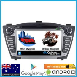Android For Hyundai IX35 LM 09-15 GPS Bluetooth Car Player Navigation Radio Stereo DVD