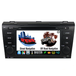 For Mazda 3 BK 2004-09 GPS Bluetooth Car Player Navigation Radio Stereo DVD