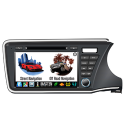 For Honda CITY 2014-2019 IN DASH GPS DVD NAVIGATION BLUETOOTH STEREO AM/FM