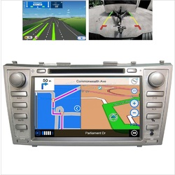 Android GPS Bluetooth Car Player Navigation Radio Stereo DVD For Toyota Camry Aurion 06-11