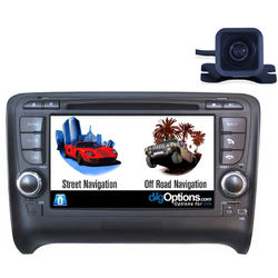 For Audi TT 8J 06-14 GPS Bluetooth Car Player Navigation Radio Stereo DVD INC CAM Dmax Touch