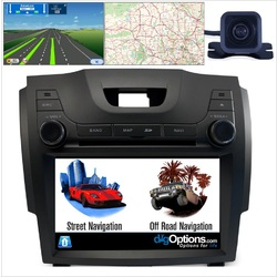 Platinum For Isuzu DMAX D-MAX MUX MU-X GPS Nav Bluetooth Car Player Navigation Radio Stereo DVD Inc CAM