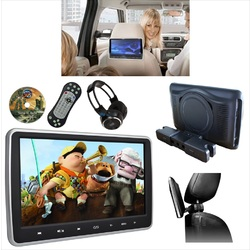 10.1 inch Slim Active Car headrest DVD Player HD Digital TFT Screen HDMI Game