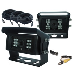 Masten CCD 700TVL 2 Camera Heavy Duty Horse Float Reversing Kit Caravan