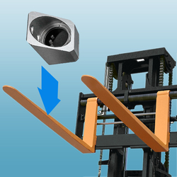 Masten CCD 600TVL Waterproof Wireless Safety Camera System for Forklifts