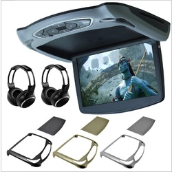 "13.3"" Slim Digital LCD Roof Mount Monitor with DVD Upgraded Masten 1920 x 1080 HD Digital Panel"