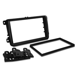For Volkswagen VW Golf Passat Polo Amarok Double-din Radio Fascia Stereo Surround