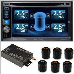 TPMS Tire Pressure Monitor System 6 External Cap 22 Sensors for DVD Video Car Set