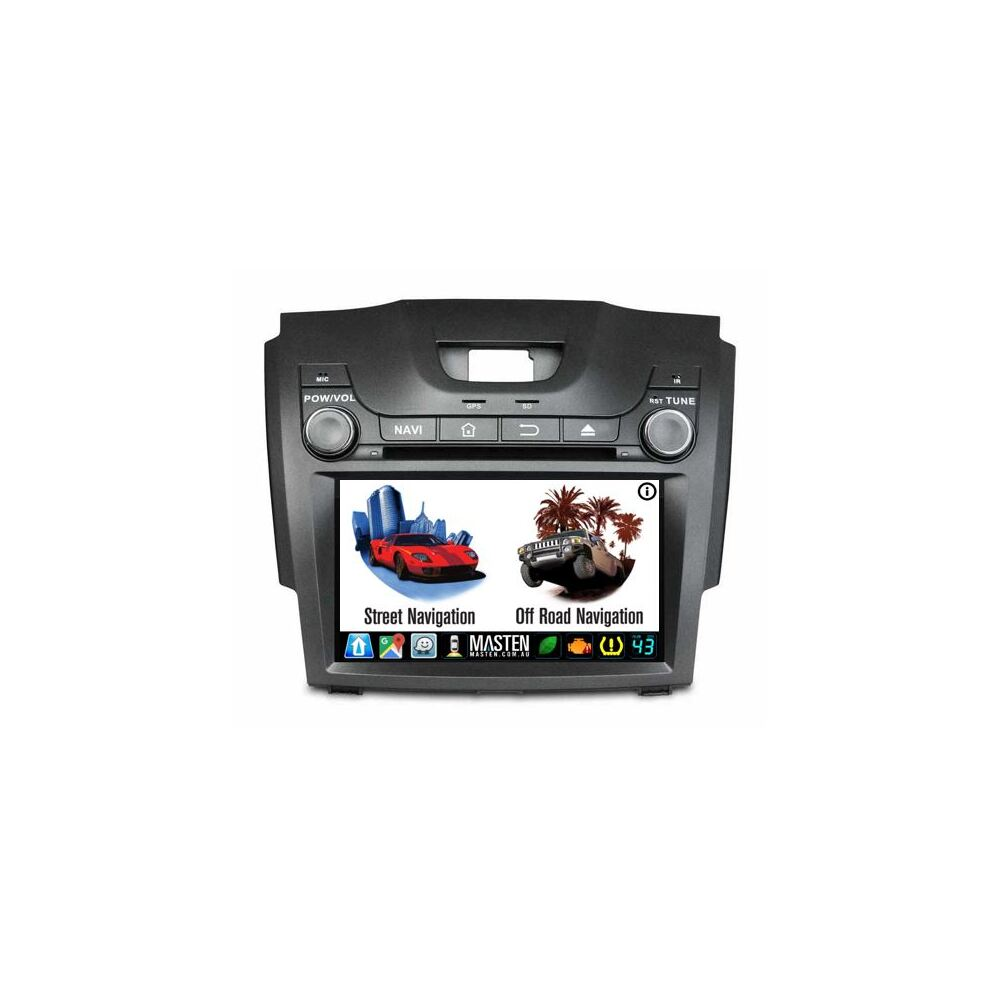 Android For Holden Colorado7 RG GPS Nav Bluetooth Car Player Navigation Radio Stereo DVD