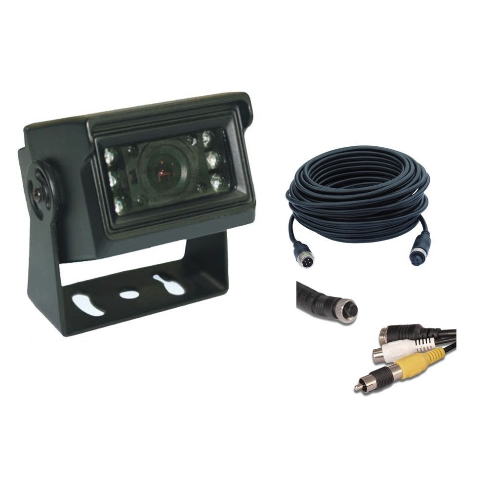 Ute/Canopy CCD 700TVL Camera Kit with Night Vision 7.5m Cable & RCA Adaptor