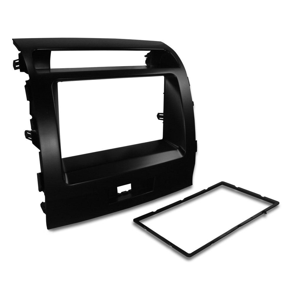 Double-din Radio Fascia Stereo Surround for For Toyota Land Cruiser LC200 Series